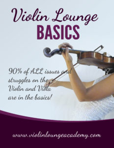 Violin lounge basics