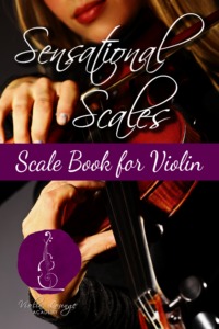 sensational scales violin