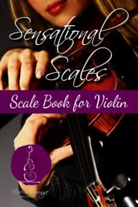 sensational scales violin